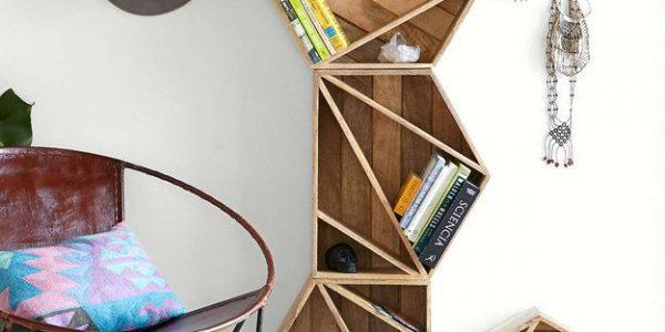 Biblioteca cu forme geometrice