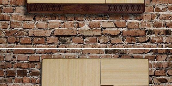 Birou pliabil in mobilier de perete