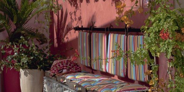 Canapea terasa din piatra