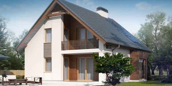 Casa cu 4 dormitoare si 2 bai vedere gradina