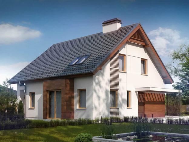 Casa cu mansarda cu 4 dormitoare si 2 bai