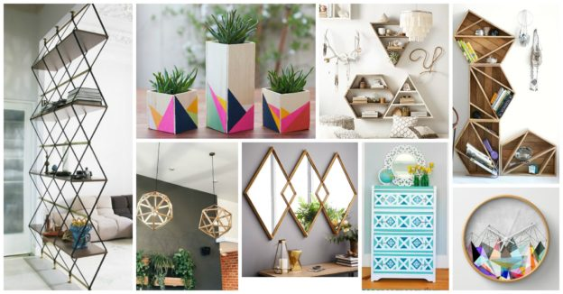 Decoratiuni cu forme geometrice