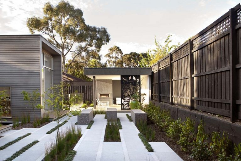 Design gradina moderna