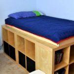 Dormitor copil cu platforma inaltata