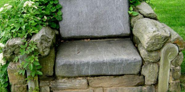 Fotoliu din piatra naturala