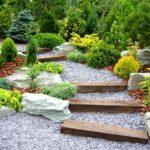 Gradina superba cu arbusti ornamentali