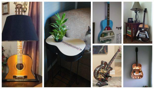 Idei refolosire chitare vechi
