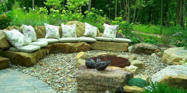 Loc de relaxare din piatra