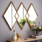 Oglinzi cu forme geometrice