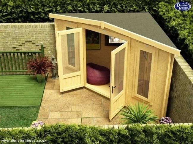 Pavilion colt pentru gradina