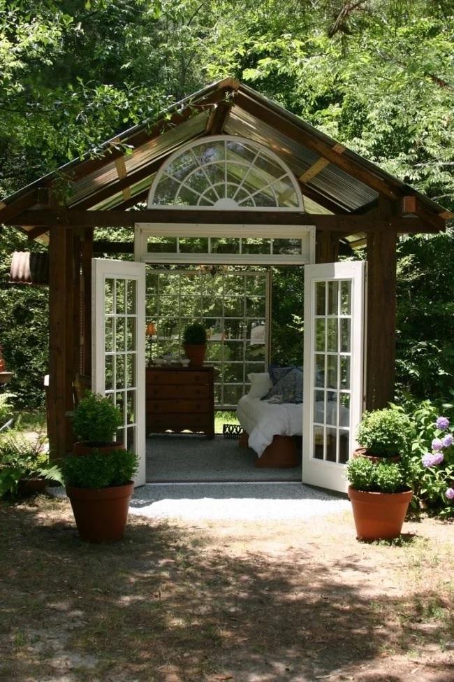 Pavilion de gradina elegant