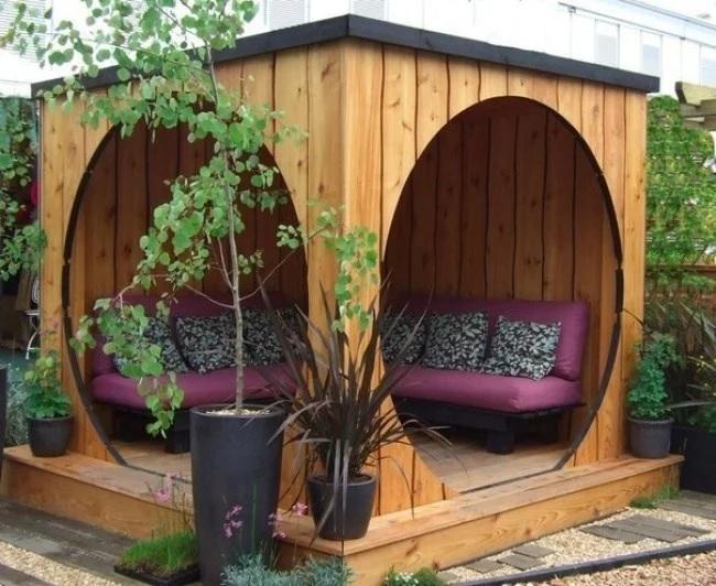 Pavilion modern de gradina