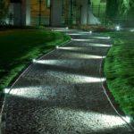 Spoturi lumina alee gradina