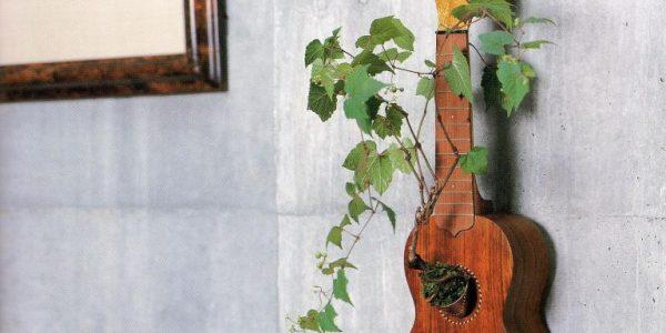Suport floare din chitara