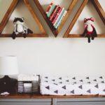 Suporturi decorative triunghiulare din lemn