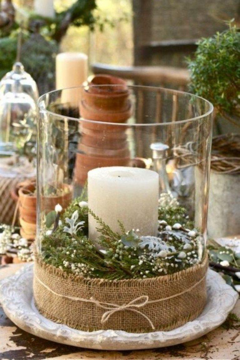 Vas decorativ din vaza simpla