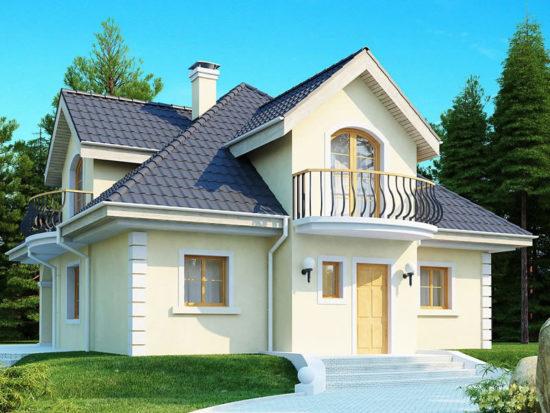 Casa clasica cu lucarne