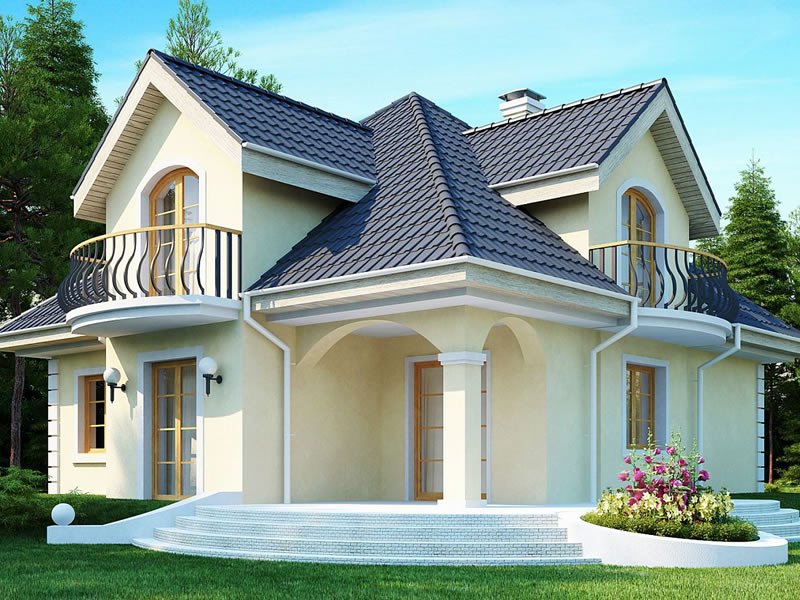 Casa eleganta cu 4 dormitoare vedere gradina