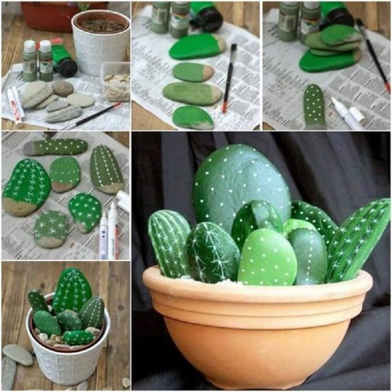 Cactusi din pietre