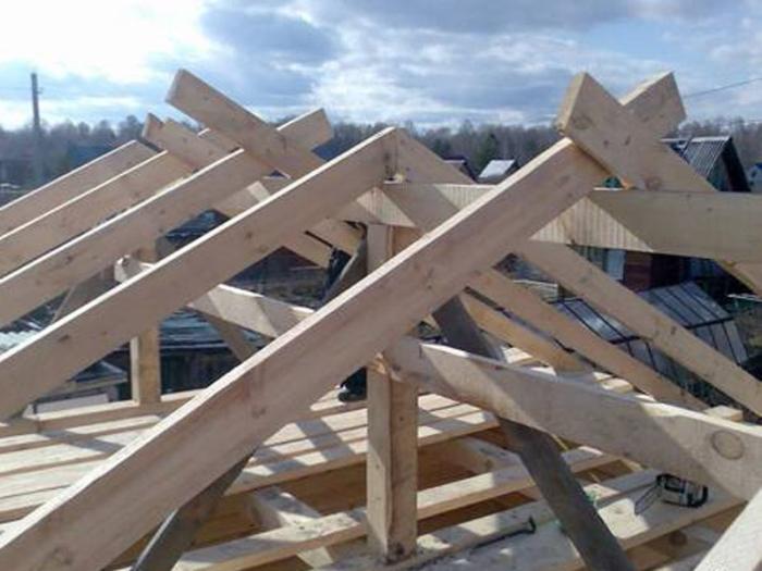 Построить крышу гаража своими руками фото 955