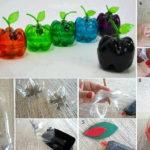 Cutie de bijuterii din sticle de plastic