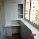 Dulap alb balcon