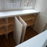 Dulapuri de lemn balcon