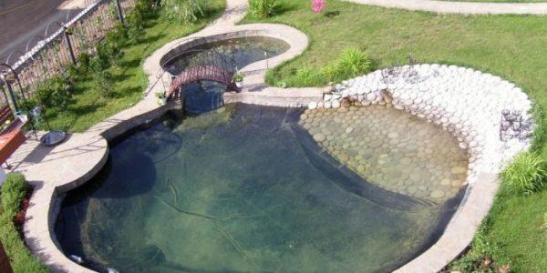 Lac circular de gradina
