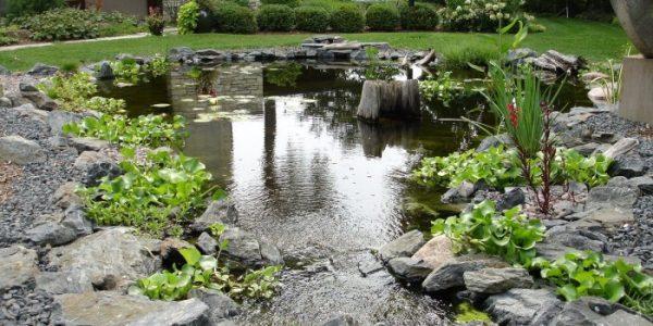 Lac mare cu pietre