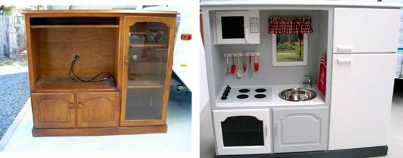 Reconditionare mobilier in jucarii