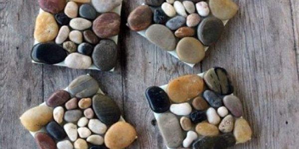 Suporturi pahare din pietre