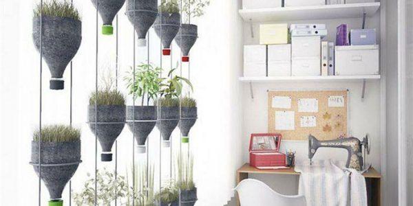 Suporturi plante balcon din sticle