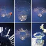 Vaza din sticla de plastic
