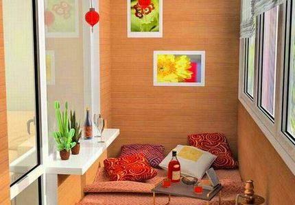 Zona de relaxare balcon