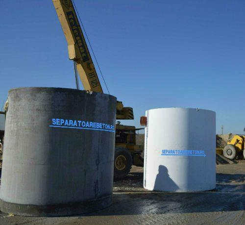 separator de hidrocarburi din beton