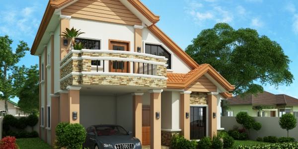 Casa cu etaj si 4 dormitoare