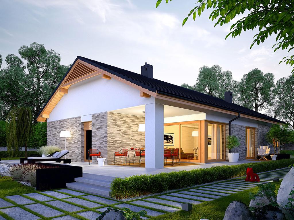 Casa eleganta cu 3 dormitoare