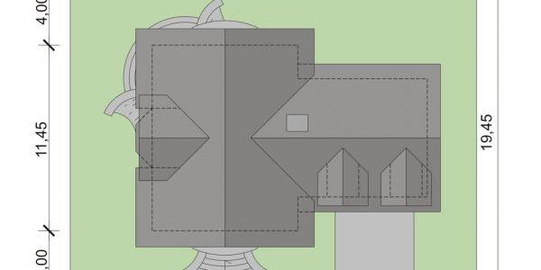 Dimensiuni teren casa cu mansarda si garaj