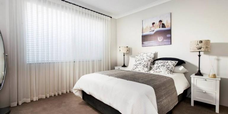 Dormitor simplu cu pat dublu