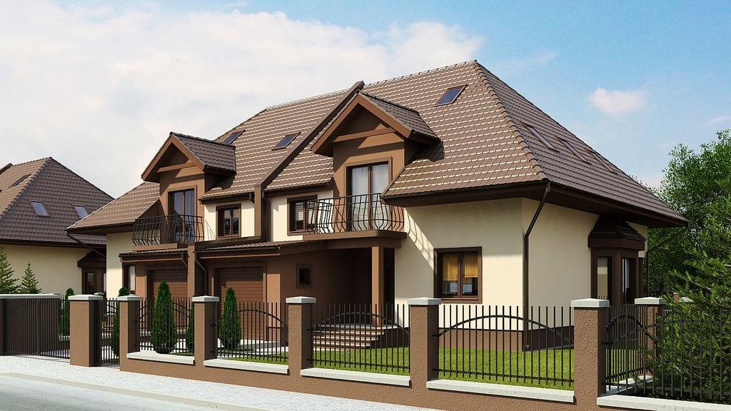 Duplex cu 4 camere si garaj