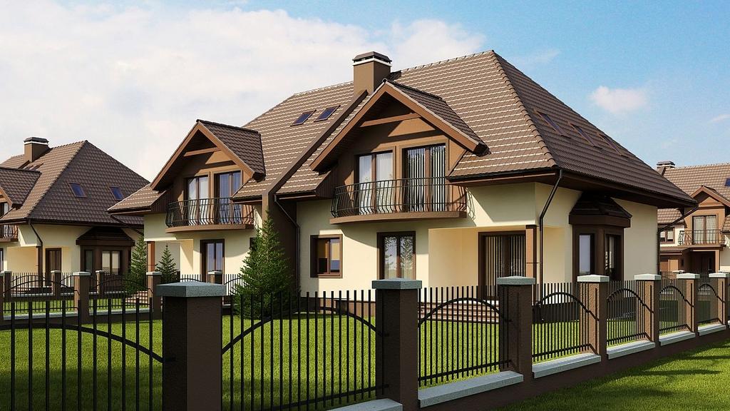 Duplex cu cate 4 camere