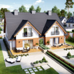 Duplex cu terase si gradini