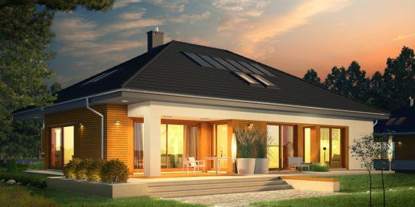 Sistem iluminat casa cu 3 dormitoare