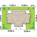 Suprafata treren duplex cu 4 camere