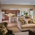 Bucatarie cu mobilier de lemn masiv