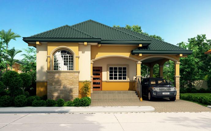 Bungalow cu 3 camere si garaj