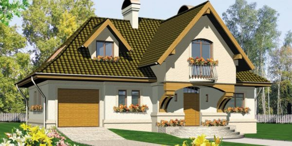 Casa cu 2 lucarne
