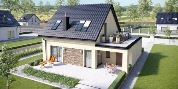 Casa cu 3 dormitoare si garaj