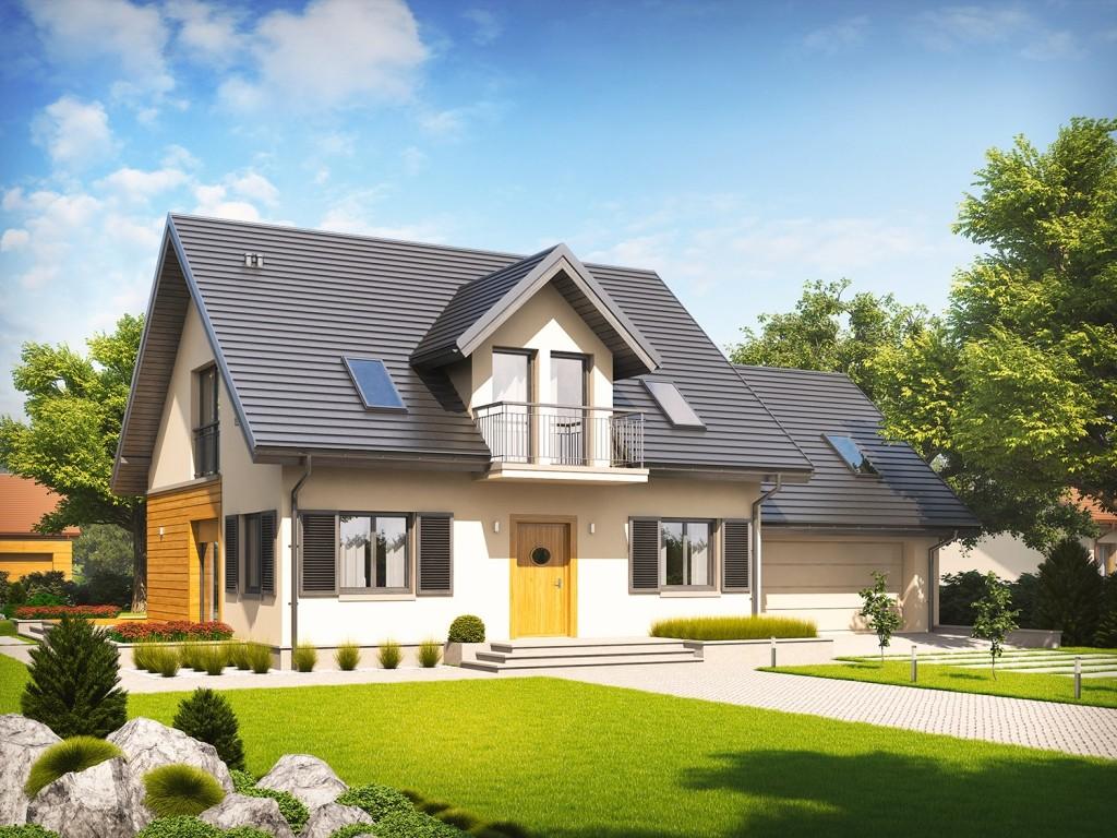 Casa cu 4 dormitoare si garaj