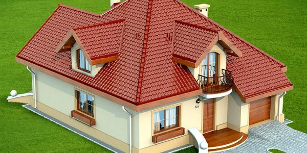 Casa cu 4 dormitoare si mansarda